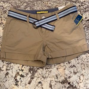 New with tags tan shorts